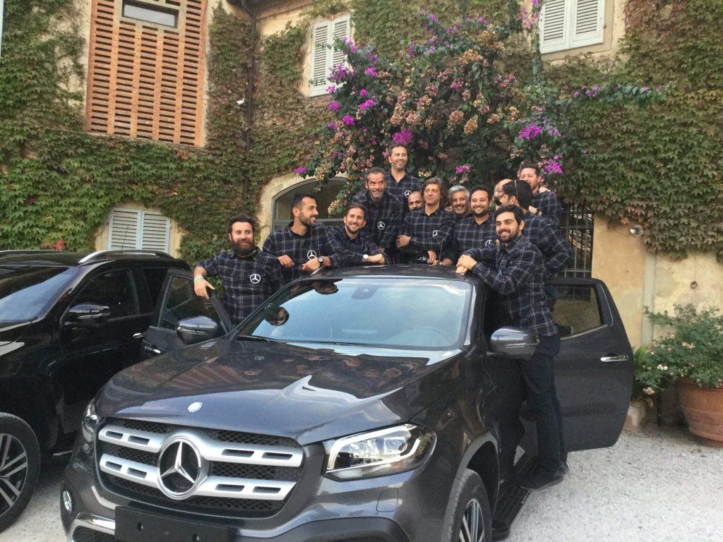Mercedes presenta Classe X con Tuscan Excelsia