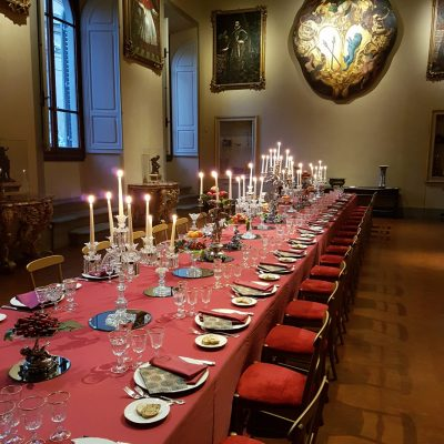 Cena medievale 1 400x400 - Catering for Private events
