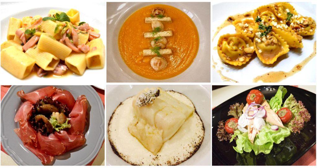 piatti 2 collage e1526291321615 1024x545 - Olio Restaurant